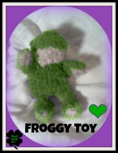 #5 My froggy toy.